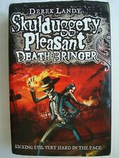Skulduggery Pleasant: Death Bringer by Derek Landy 1st Edition (Hardback, 2011)