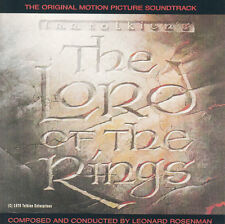 The Lord of the Rings-1978-Original Movie Soundtrack-15 Tracks-CD