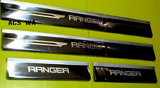 FORD RANGER / COURIER SCUFF PLATES DOUBLE CAB 4 DOORS 2006-2011 2008 2009 2010