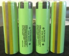 "Brand New ""4""  Panasonic NCR18650BE 3.7V 3200mAh Rechargeable Battery Protected"