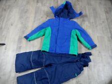 TCM TCHIBO KIDS schöner Schneeanzug blau grün Gr. 98/104 TOP DD1017