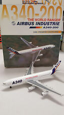DRAGON WINGS AIRBUS HOUSE LIVERY A340-200 WITH STAND 1:400
