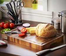 Acacia Wooden Chopping Board Thick Easy Clean 100%