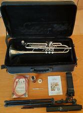Trompete Besson New Standard BE110 mit Koffer und Zubehör