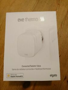 Eve Thermo - Smartes Heizkörperthermostat mit LED-Display, nur für Apple HomeKit
