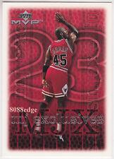 "1999-00 UPPER DECK MVP MJ EXCLUSIVES: MICHAEL JORDAN #180 ""1ST COMEBACK #45 JSY"""