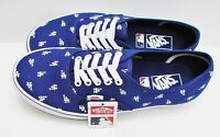 Vans Authentic MLB Los Angeles Dodgers Blue VN-0A2Z5IKU0 Men's Size  13