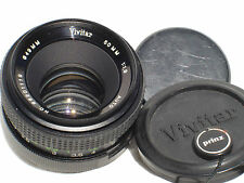 VIVITAR 50mm F 1.9 lens, PENTAX M42 screw mount.