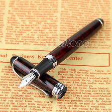 JINHAO X750 Lave rouge Moyen Plume NIB Fontaine stylo