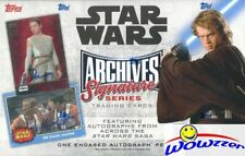 2018 Topps Star Wars Archives Signature Series HOBBY Box-Buyback AUTO