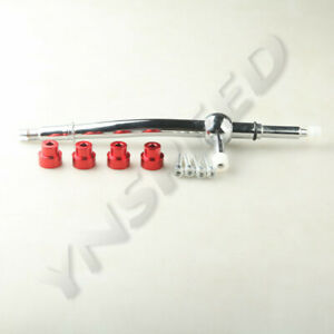 Racing Short Shifter For 2002-2003 Mini Cooper S 6-Speed Manual Red Chrome