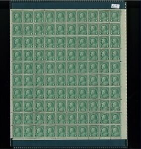 1923 United States Postage Stamp #581 Plate No. 16174 Mint Full Sheet