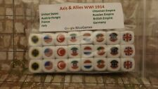 Axis and Allies Six Sided Game Dice WWI WWII