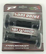 "Progrip 7/8"" Motorcycle Grips Twist Throttle MX Streetbike 120mm Suzuki"
