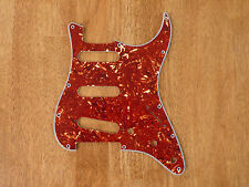 PICKGUARD RED TORTOISE SHELL 4 PLY FOR STRATOCASTER