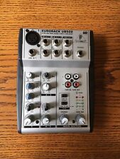 no power supply - Behringer Eurorack UB502 studio preamp ultra low noise mixer