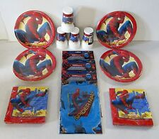 Marvel Spiderman Homecoming Party Tableware Pack for 32 People - Plates Cups etc