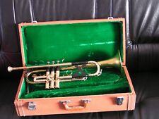 """Trompette Selmer """" C700 montée avec pavillon Getzen capri ..faire offre..A voir."""
