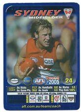 2005 Teamcoach Blue Star Premium Prize Card (82) Jude BOLTON Sydney
