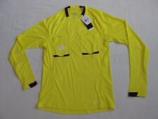 Adidas Referee 12 Long Sleeve Soccer Jersey Yellow Purple Men's Small New