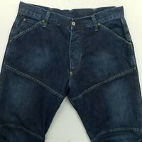 G-Star Raw ELWOOD Mens LOOSE BAGGY Jeans W34 L32 Blue Relaxed Straight