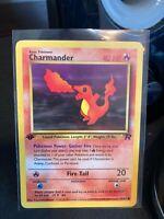Charmander 1st Edition Team Rocket 50/82 LP Vintage WotC Pokemon Card