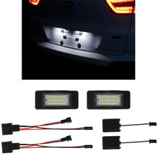 24 SMD Canbus LED License Number Plate Light For Audi A4 B8 S4 A5 S5 Q5 S TT