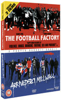 The Football Factory/Arrivederci Millwall DVD (2011) Danny Dyer, McDougall