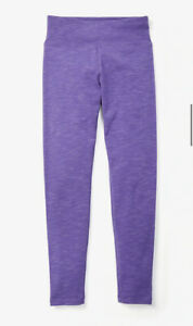 New! Justice Girls Space Dye Leggings Purple Color Size 7, 8, 10, 12