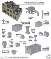 Walthers # 3733  Roof Details Kit  HO Scale MIB