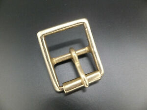 """Solid Brass Military Full Roller Buckle Leather craft  1/2"""" - 2""""  -  8 Sizes"""