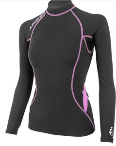 Aropec Ladies Compression Long Sleeve Top Triathlon Running Sports Size Large