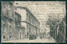 Napoli Ercolano Resina Tram cartolina XB3856