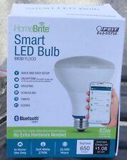 Feit Electric HomeBrite BR30 Flood Smart LED Light Bulb Bluetooth 65W Soft White