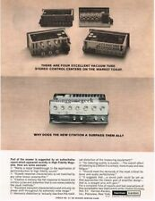 1964 Harmon Kardon Citation Pre-Amp Hi-Fi Vtg Print Ad