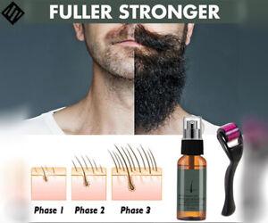 Beard Growth Kit,Beard Growth Serum & Drem Roller Moustache Hair Growth Boosts