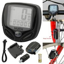 Wireless Cycle Bicycle Bike LCD Computer Speedometer Odometer Speed Waterproof