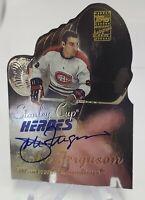 2002-03 Topps Stanley Cup Heroes Autographs #SCH-JF John Ferguson