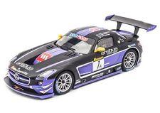 """CARRERA 23812 MERCEDES BENZ SLS AMG GT3 """"EREBUS"""" NEW DIGITAL 124 SLOT CAR"""