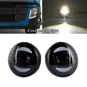 2xCar Truck Front Bumper Full LED Fog Light Lamp Fit For Volvo 2018-04 VHD VNL