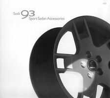 6016SAA Saab 9-3 Sport Sedan Accessories Prospekt 2003 GB englisch brochure