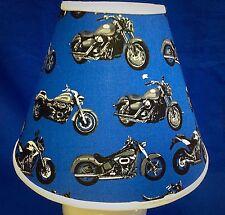 MotorCycle Cycle Lampshade Bike Harley Honda Handmade Lamp Shade