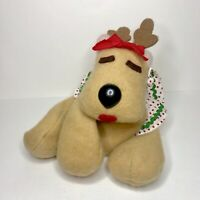 Vintage Rodney Reindeer Rhonda Plush Hallmark 1984 Stuffed Animal Bean Bag