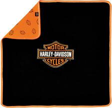 Harley-Davidson® Newborn Baby Bar & Shield Receiving Blanket (30x30) 0150096