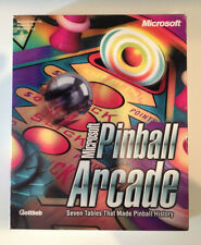 PINBALL ARCADE Flipper versione PC CDrom Microsoft scatola e libretto
