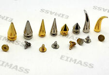 Screw-Back Rivet, EIMASS® Premium Spike Cone,Bullet,Tiger Claw Nickel Studs,2168