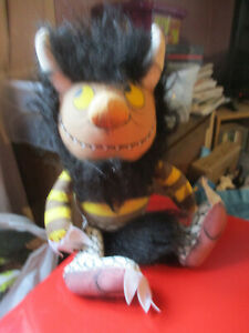 """Vintage Where The Wild Things Are Plush - Moishe 18"""""""