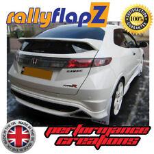 PARAFANGHI HONDA CIVIC TYPE R (FN2) RallyflapZ 07-11 Bianco 4mm PVC-Big Logo