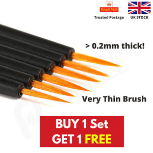 Miniature Model Painting Brushes Extra Fine Miniatures Modellers Warhammer