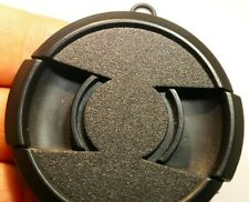 58mm snap on type Lens Front Cap center pinch